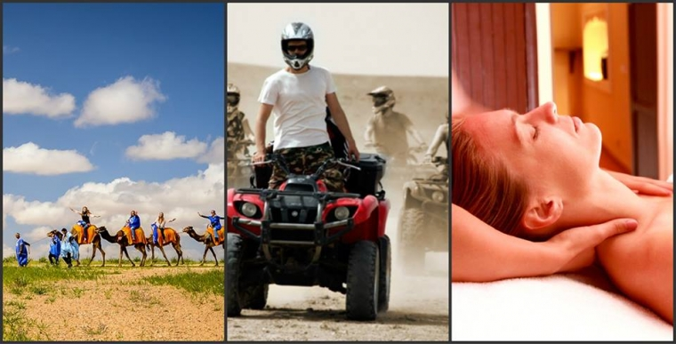 Camel Ride & Quad Bike & Tratamento de Spa Marrakech